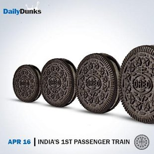 How Oreo Indias Daily Dunks Are Being Lapped Up On Social Media image Oreo passenger train