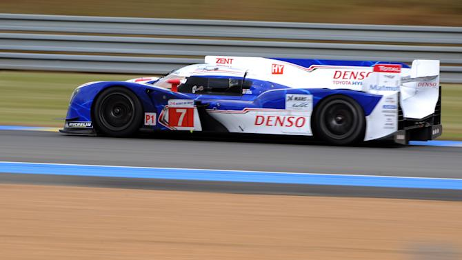 Toyota Ts 030-Hybrid N°7 driven by Austr