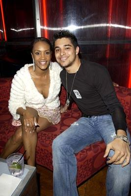 Vivica A. Fox and Wilmer Valderrama at the LA premiere of Miramax's Kill Bill Vol. 2