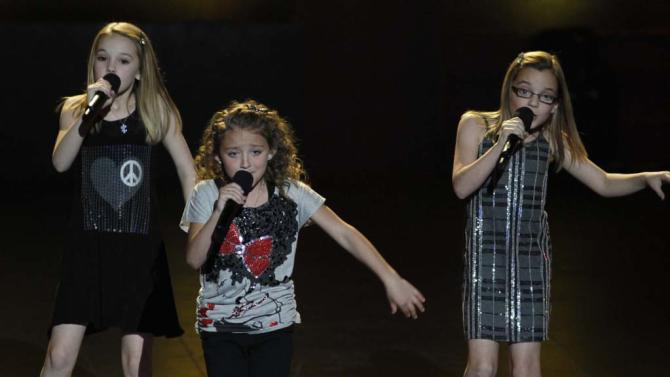 "Avery and the Calico Hearts (singing trio) is one of the Top 48 acts on Season 6 of ""America's Got Talent."""