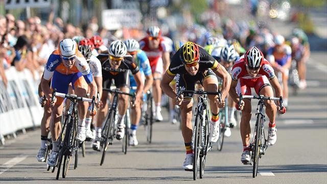 Boonen wins Paris-Brussels for first time