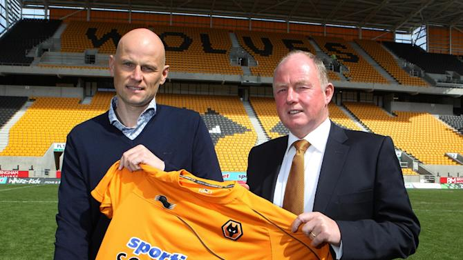 Stale Solbakken (left) and Steve Morgan