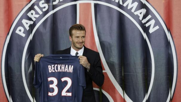 Beckham signs with PSG