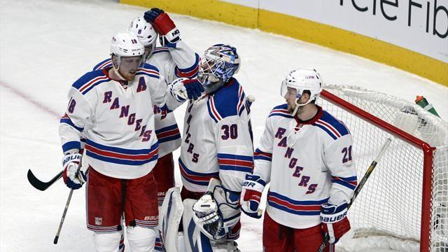 Ice Hockey - Rangers beat Montreal for two-game series lead