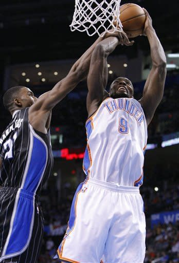 Durant, Westbrook lead Thunder past Magic, 117-104