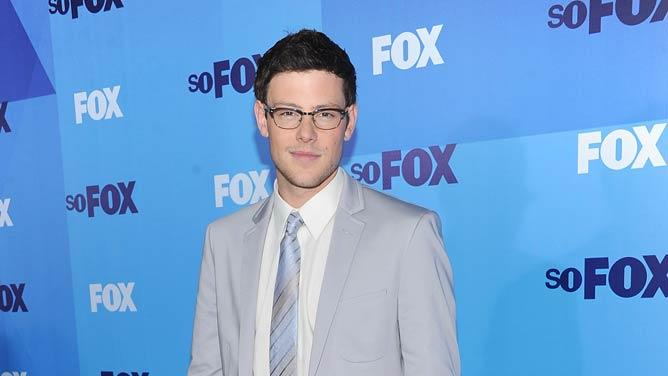 Cory Monteith FOX Upfronts