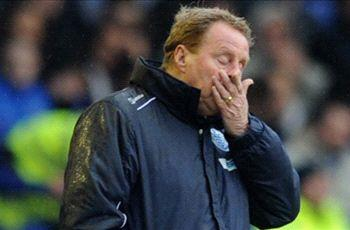 'It's probably been as difficult a spell as I've had anywhere', rues QPR boss Redknapp