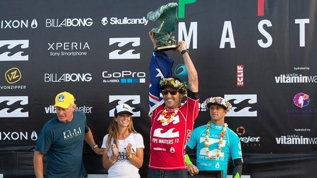 Surfing - Parkinson claims world title after Pipe Masters win