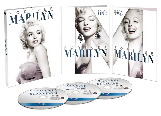 Forever Marilyn: The Blu-ray Collection Box Art