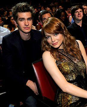 Emma Stone Dating Spider-Man Costar Andrew Garfield!