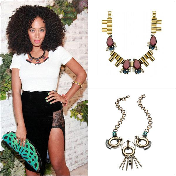 Solange Knowles's Deco Baubles