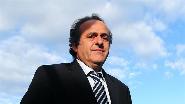 World Cup - Platini defends number of European World Cup places