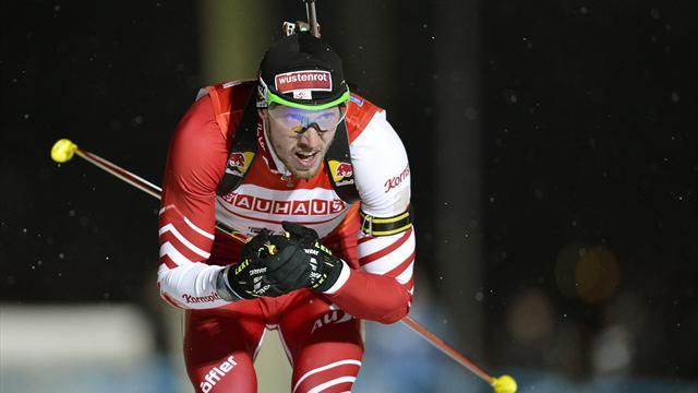 Biathlon - Landertinger outsprints Schempp for Austrian relay victory