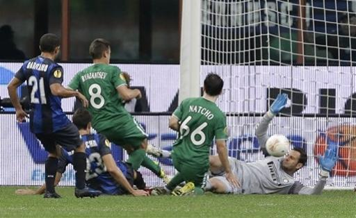 Italy Soccer Europa League The Associated Press Getty Images