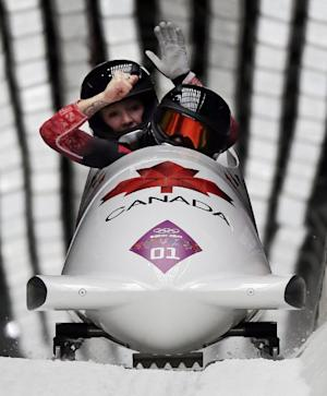 Canada rallies past US for women's bobsled gold