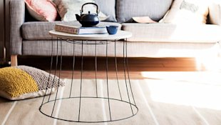Lightshade Wire Coffee Table