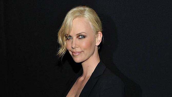 Charlize Theron DIOR Prty