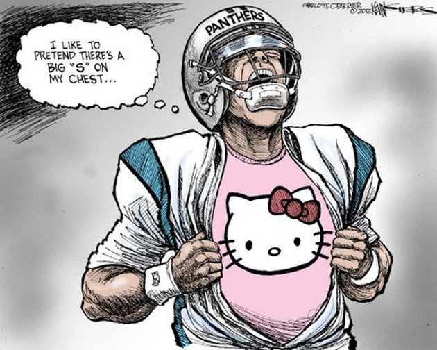 Cam Newton lampooned in Charlotte Observer cartoon ...