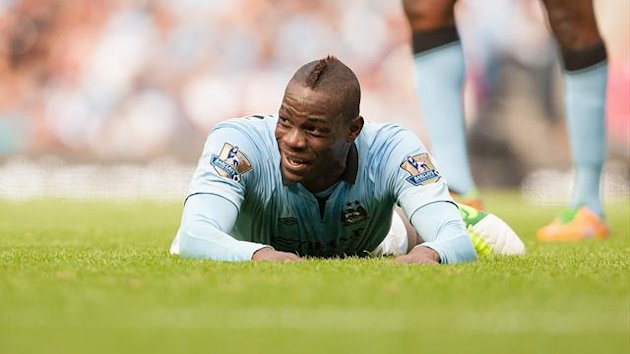 FOOTBALL 2012 Manchester City - Balotelli