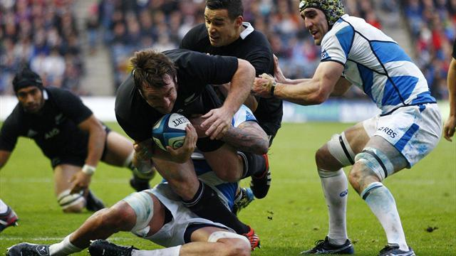 Rugby - All Black Hore banned for England clash