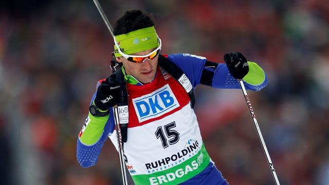 Biathlon - Fak earns first-ever World Cup win