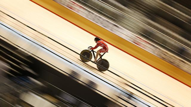 Cycling - Crampton takes keirin gold at track cycling World Cup