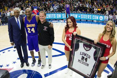 NBA schedule and results: Kobe Bryant's farewell tour continues to Philadelphia