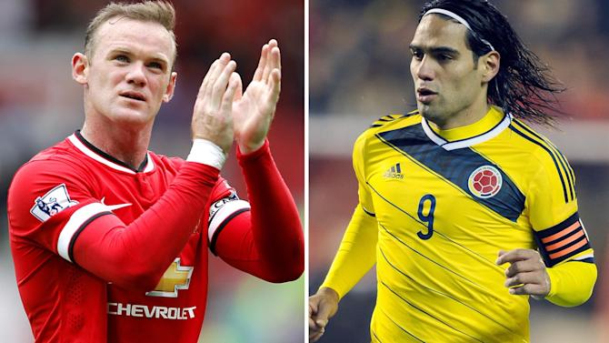 Premier League - Rooney: Falcao capture a 'statement of intent' from Man Utd