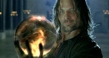 Viggo Mortensen as Aragorn in the special extended edition of New Line's The Lord of the Rings: The Return of The King