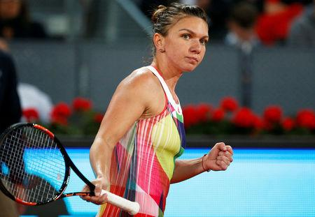 Tennis - Madrid Open -  Women's Finals - Dominika Cibulkova of Slovakia v Simona Halep of Romania - Madrid, Spain