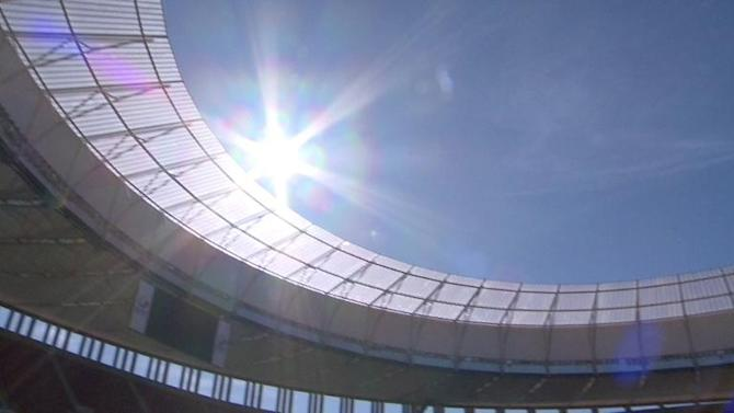 Brasilia might host the world's most eco-friendly stadium