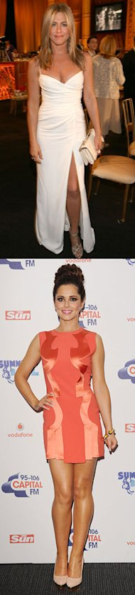 Week's Best Dressed: Cheryl Cole versus Jennifer Aniston