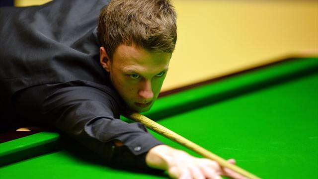Snooker - Trump out despite 125 break, Higgins through