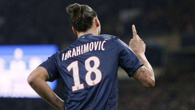 Ligue 1 - Zlatan scores two on return as PSG go top