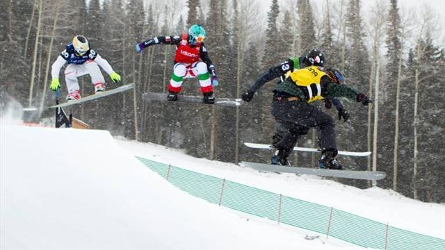 Snowboard - Americans, Canadians win team events