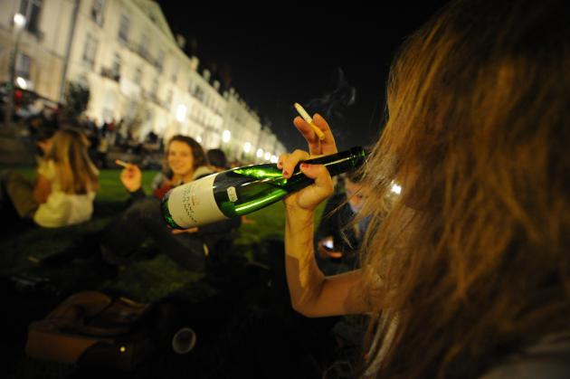 NANTES, le 29/09/2011 Prévention en alcoologie et en adictologie lors de soirées étudiantes, © Fabrice ELSNER