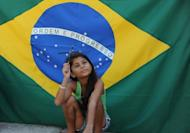 A girl of the Tasso da Silveira municipal school in Rio de Janeiro, Brazil on December 21, 2012. 2012 has been a study in contrasts as far as Latin America's two biggest economies, Brazil and Mexico, are concerned.