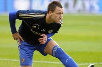 TEAM NEWS: Terry misses Chelsea's Europa League final with ankle injury