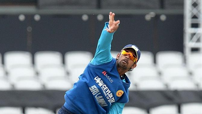 Cricket - Senanayake bowling action reported