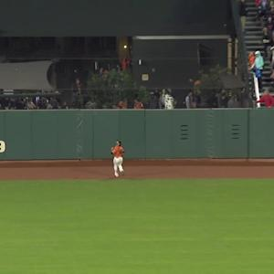 Dickerson's two-run homer