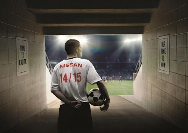 Nissan driving to electrify soccer's Champions League Final