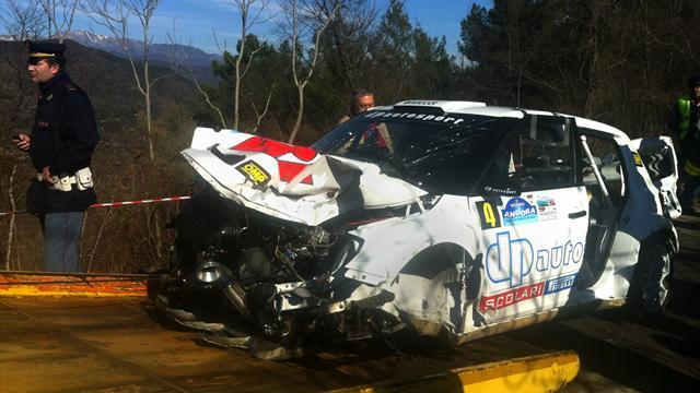 WRC - 'Pace note error' caused Kubica crash