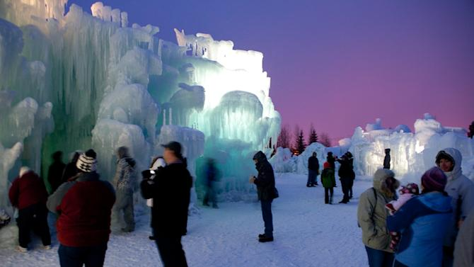 Artists' Amazing Ice Castle Creations