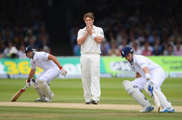 England v Australia: 2nd Investec Ashes Test - Day Three