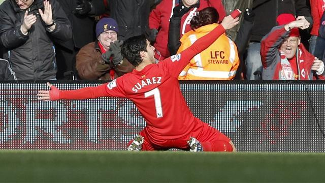 Premier League - Suarez effort wins Goal of the Week
