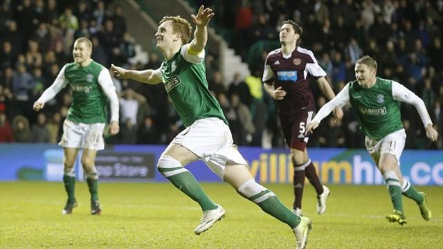 Scottish Premiership - Late Craig penalty hands Hibernian derby victory
