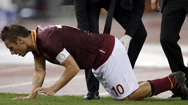 Serie A - Roma captain Totti returns after eight-week layoff