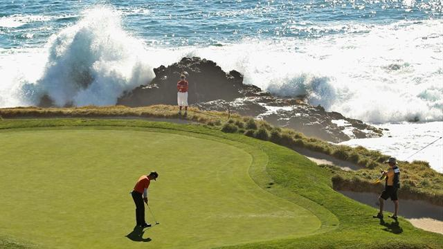 Golf - Rookie upstages Mickelson, Appleby at Pebble Beach Pro-Am