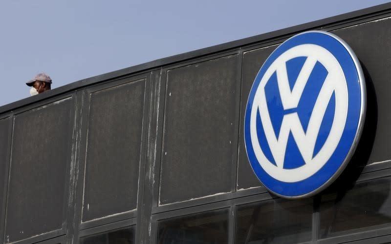 Volkswagen says is open to listing trucks business