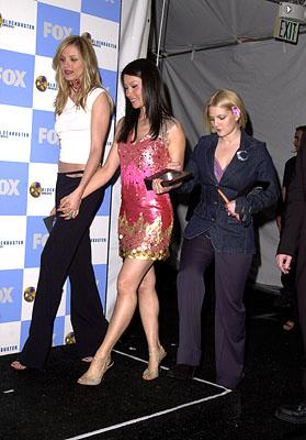 Cameron Diaz, Lucy Liu and Drew Barrymore Blockbuster Entertainment Awards Los Angeles, 4/10/2001